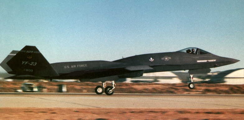 YF-23 Picture gallery